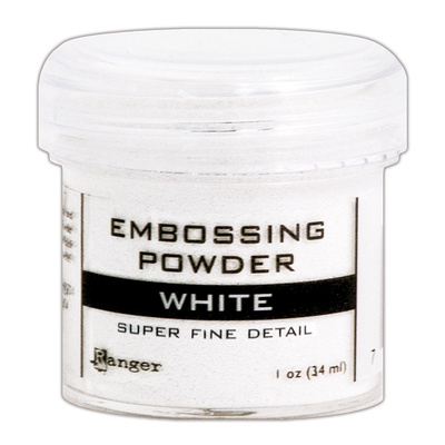 Embossing Powder Super Fine - White
