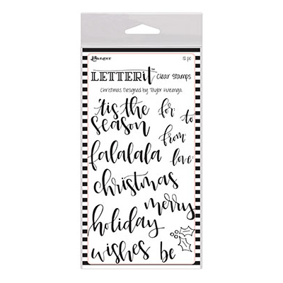 Letter It Clear Stamps Set 6x4 - Christmas*