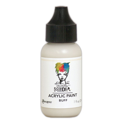 Dina Wakley Media Acrylic Paint - Buff