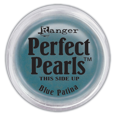 Perfect Pearls Pigment Powder - Blue Patina