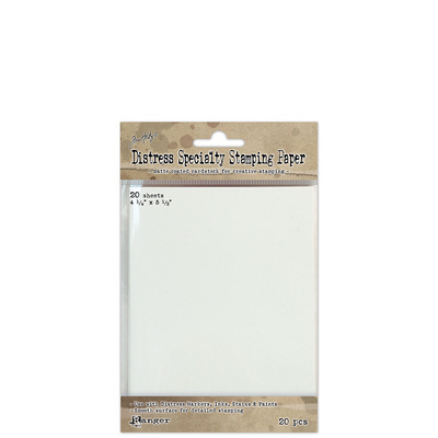 Distress Specialty Stamping Paper 4.25x5.5 (20 Pack)