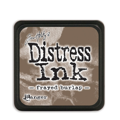 Distress Ink Pad Mini - Frayed Burlap