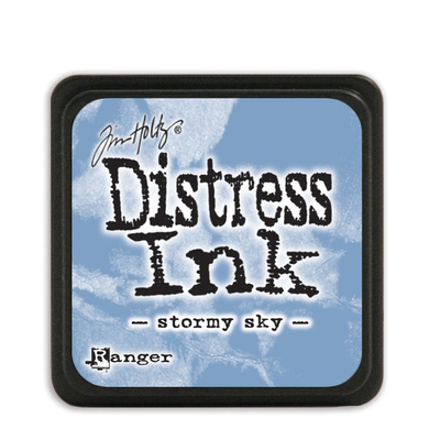 Distress Ink Pad Mini - Stormy Sky