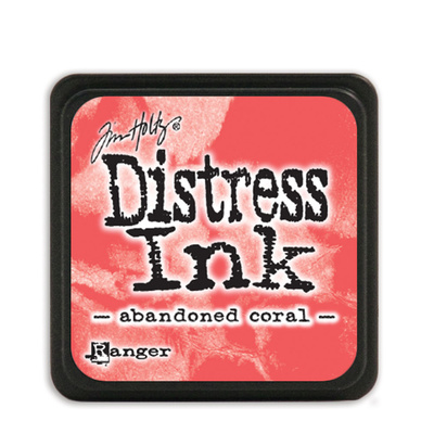 Distress Ink Pad Mini - Abandoned Coral