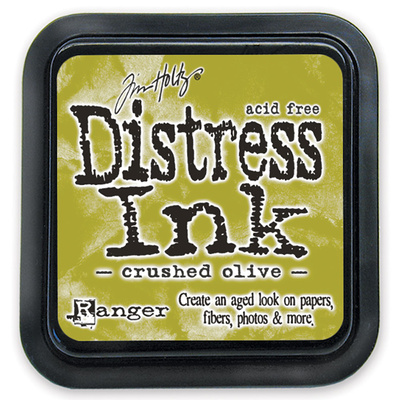Distress Ink Pad - Crushed Olive