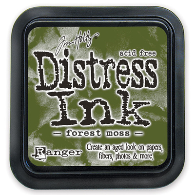 Distress Ink Pad - Forest Moss