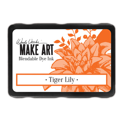 Make Art Blendable Dye Ink Pad - Tiger Lily