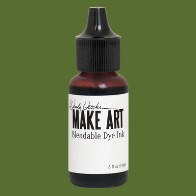 Make Art Blendable Dye Reinker - Fern Green