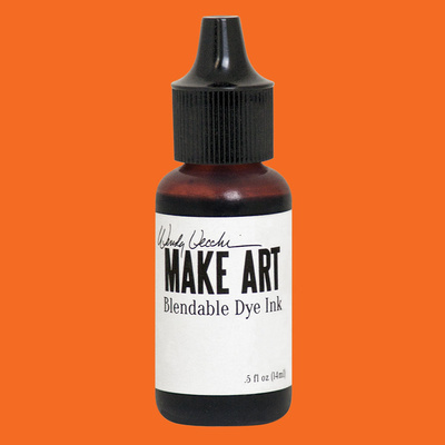 Make Art Blendable Dye Reinker - Tiger Lily